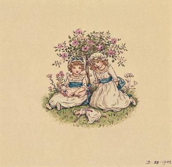 Reprodução do quadro Illustration for 'St. Valentines Day' 1902