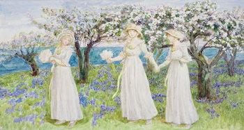 Reprodução do quadro Illustration for 'St. Valentines Day', 1914