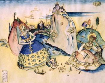 Reprodução do quadro  Imatra, 1917