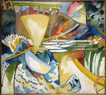 Reprodução do quadro  Improvisation, 1910