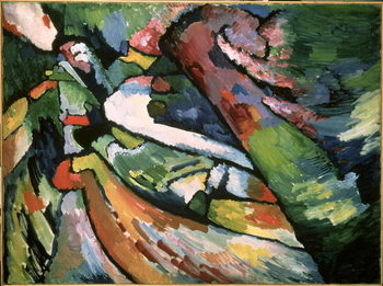 Reprodução do quadro  Improvisation VII, 1910