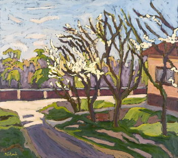 Reprodução do quadro  In Spring Light, 2008