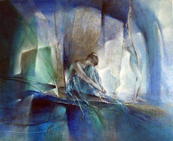 Ilustração In the blue room