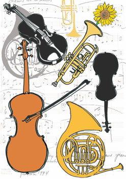 Reprodução do quadro Instruments, 2013