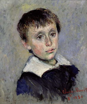 Reprodução do quadro  Jean Monet (1867-1914) 1880