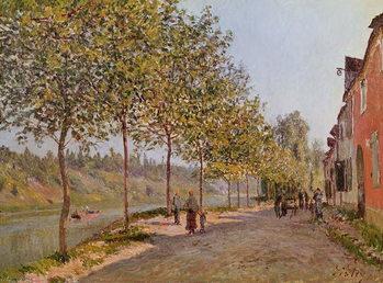 Reprodução do quadro June Morning in Saint-Mammes, 1884