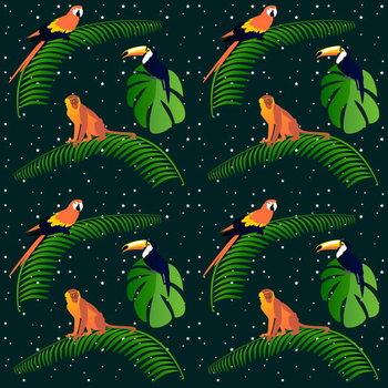 Reprodução do quadro Jungle Fever
