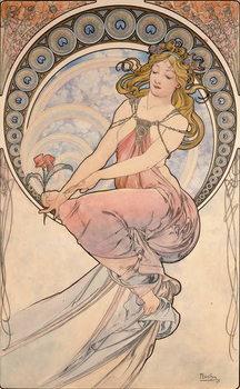 Reprodução do quadro La Peinture, 1898