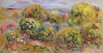 Reprodução do quadro  Landscape, 1916
