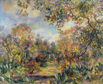Reprodução do quadro Landscape at Beaulieu, c.1893