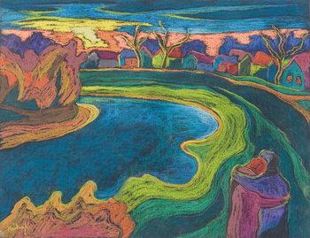 Reprodução do quadro Late Rendezvous, 2006