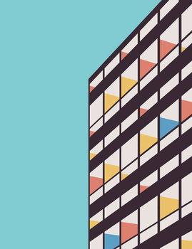 Reprodução do quadro Le Corbusier