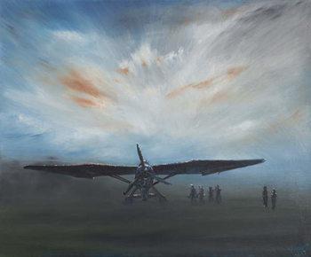Reprodução do quadro  Les Secret Obscure' Lysander, 2013,