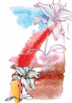 Reprodução do quadro Lily