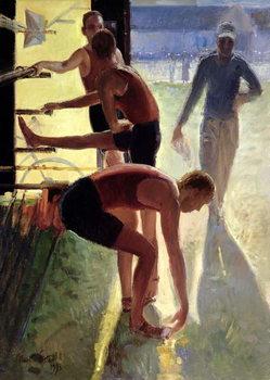 Reprodução do quadro  Limbering Up, 1993