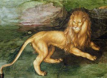 Reprodução do quadro  Lion