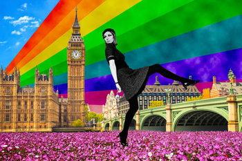 Reprodução do quadro  London Pride, 2017,