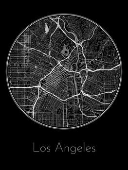 Map Los Angeles
