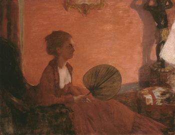 Reprodução do quadro  Madame Camus, 1869-70