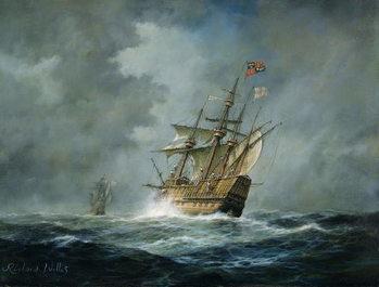 Reprodução do quadro  'Mary Rose'