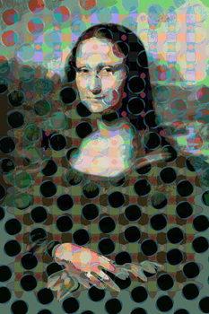 Reprodução do quadro Mona Lisa