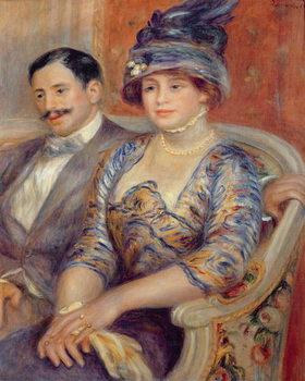 Reprodução do quadro Monsieur et Madame Bernheim de Villers, 1910
