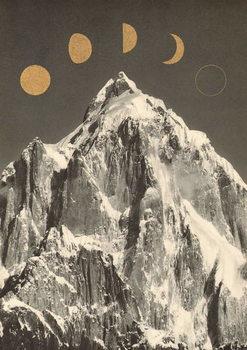 Reprodução do quadro Moon Phases