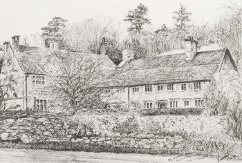 Reprodução do quadro  Mottistone Hall Isle of Wight, 2008