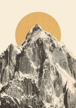 Reprodução do quadro Mountainscape 5