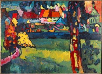 Reprodução do quadro  Murnau, 1909