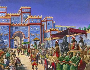 Reprodução do quadro  New Year's Day in Babylon