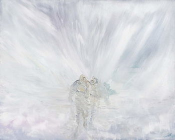 Reprodução do quadro  No Further, 20th March 1912, 2012,