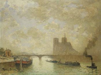 Reprodução do quadro  Notre Dame, Paris