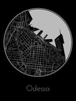 Map Odessa