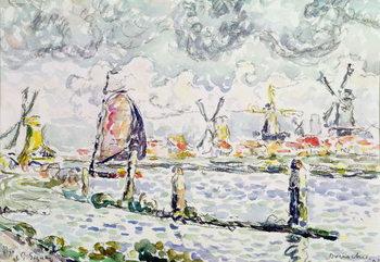 Reprodução do quadro  Overschie, 1906