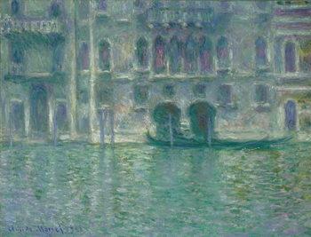 Reprodução do quadro  Palazzo da Mula, Venice, 1908