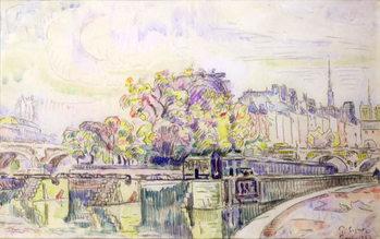 Reprodução do quadro  Paris, 1923
