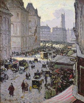 Reprodução do quadro Paris Street Scene