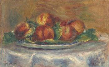 Reprodução do quadro  Peaches on a Plate, 1902-5