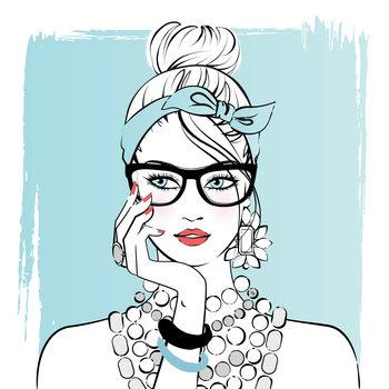 Ilustração Planner girl