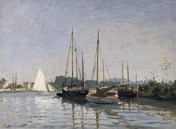 Reprodução do quadro  Pleasure Boats, Argenteuil, c.1872-3