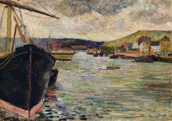 Reprodução do quadro  Port at Rouen