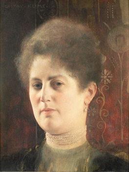 Reprodução do quadro  Portrait of a lady