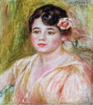 Reprodução do quadro  Portrait of Adele Besson, 1918