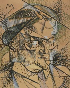 Reprodução do quadro Portrait of Edouard Gazanion, 1912