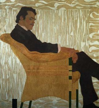 Reprodução do quadro Portrait of Hans Massmann, 1909