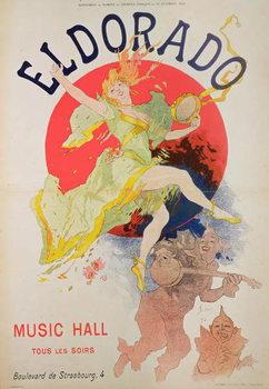 Reprodução do quadro Poster for El Dorado by Jules Cheret