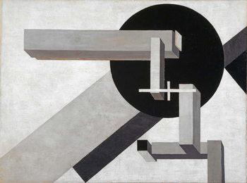 Reprodução do quadro Proun 1 D, 1919