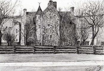 Reprodução do quadro Queen Mary's house Jedburgh, 2006,