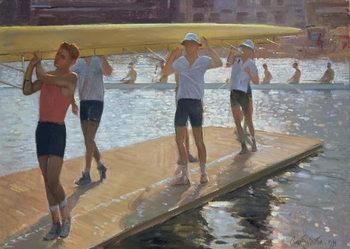 Reprodução do quadro  Raft walk, 1994